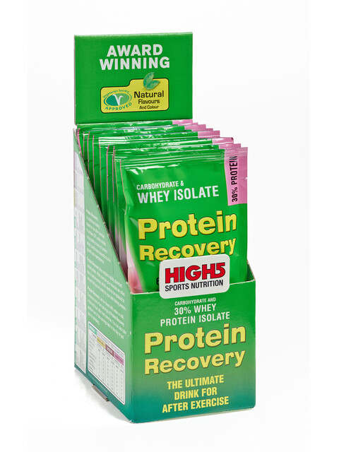 High5 Protein Recovery Drink Box Summer Fruits 9 x 60g